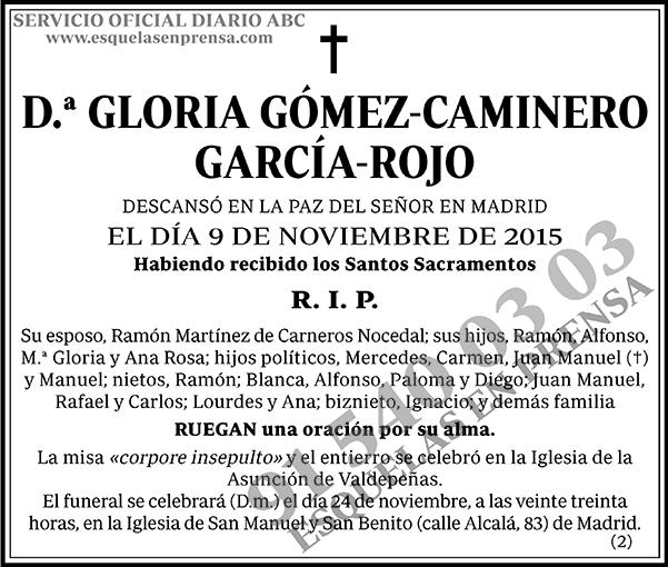 Gloria Gómez-Caminero García-Rojo